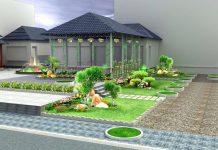 Mẫu thiết kế nhà kèm sân vườn
