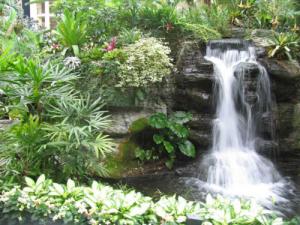 Suối nước đẹp cho sân vườn